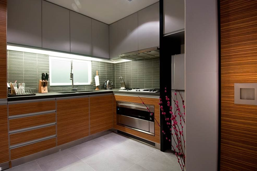 Кухни маленькие хай тек дизайн