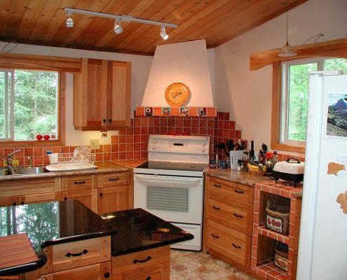 Своими руками дизайн кухни в частном доме 57