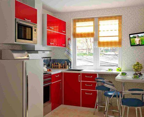 Интерьер для маленькой кухни 9 метров фото