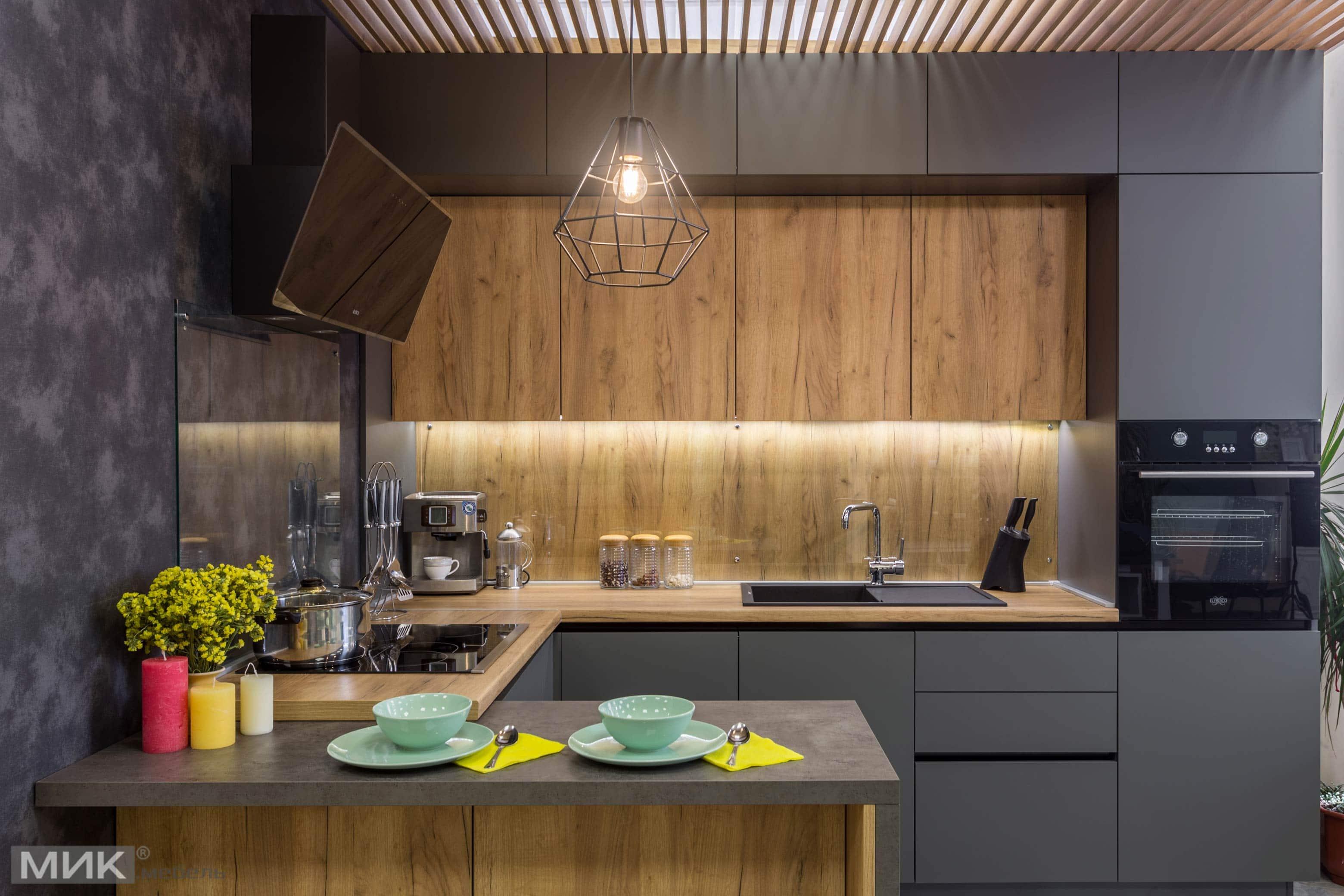 Кухонный гарнитур дизайн 2017