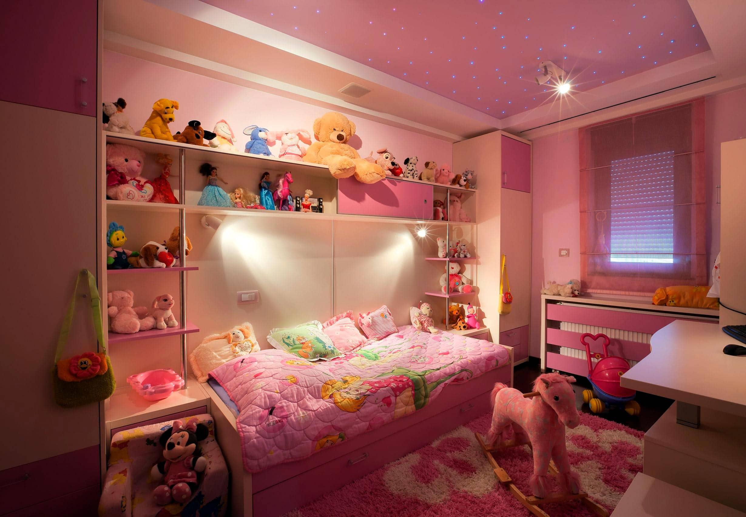 Красивая комната для девочки подростка своими руками 79