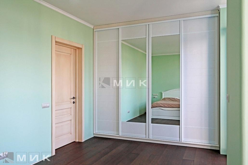 Встроенный-шкаф-купе-белый-с-зеркалами-141