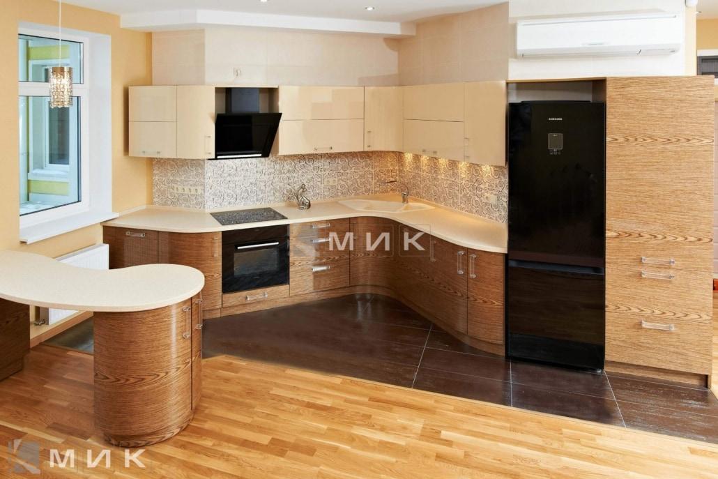 Кухня-студия-радиусная-4008