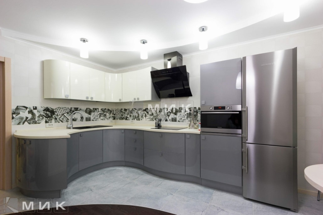 МДФ-кухня-в-стальном-цвете-6006
