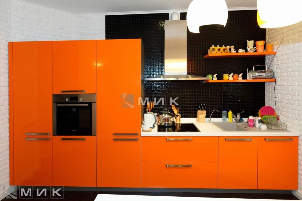 МДФ-кухня-оранжевая-6019