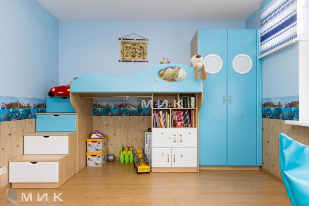 мебель-для малышей-в голубом-цвете-100