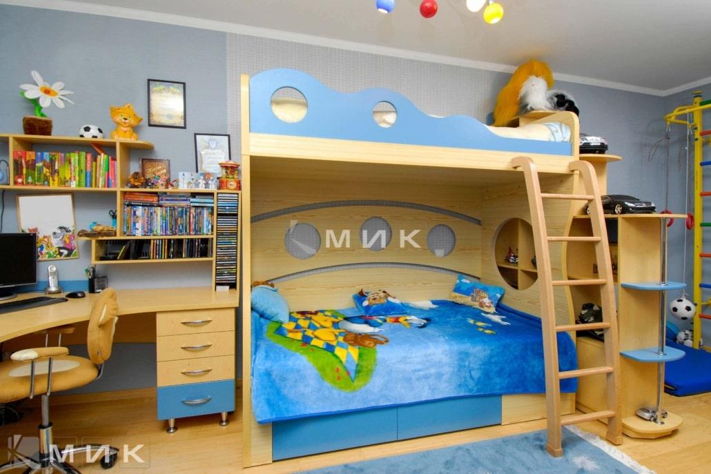 интерьер-детской-в-синем-цвете-113
