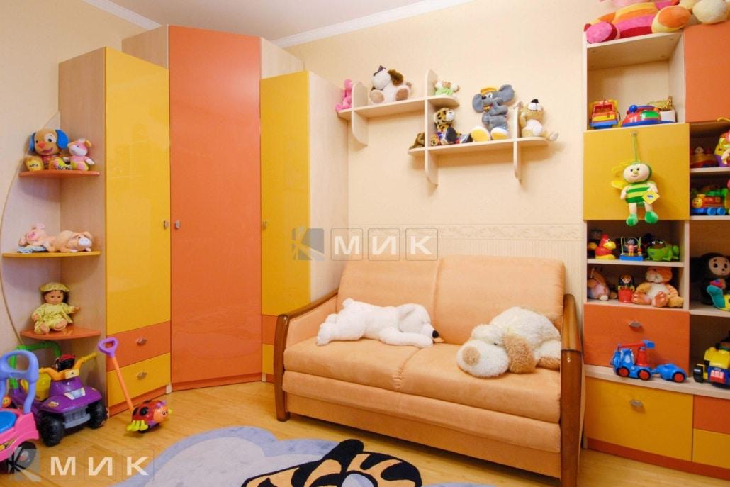 Фото-детской-мебели-в-оранжевом-цвете-119