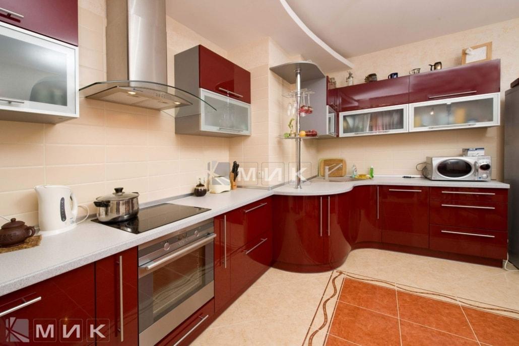 гнутая-бордовая-кухня-2194