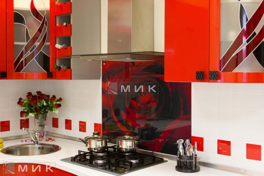 фото-гнутая-кухня-с-красными-фасадами-1030