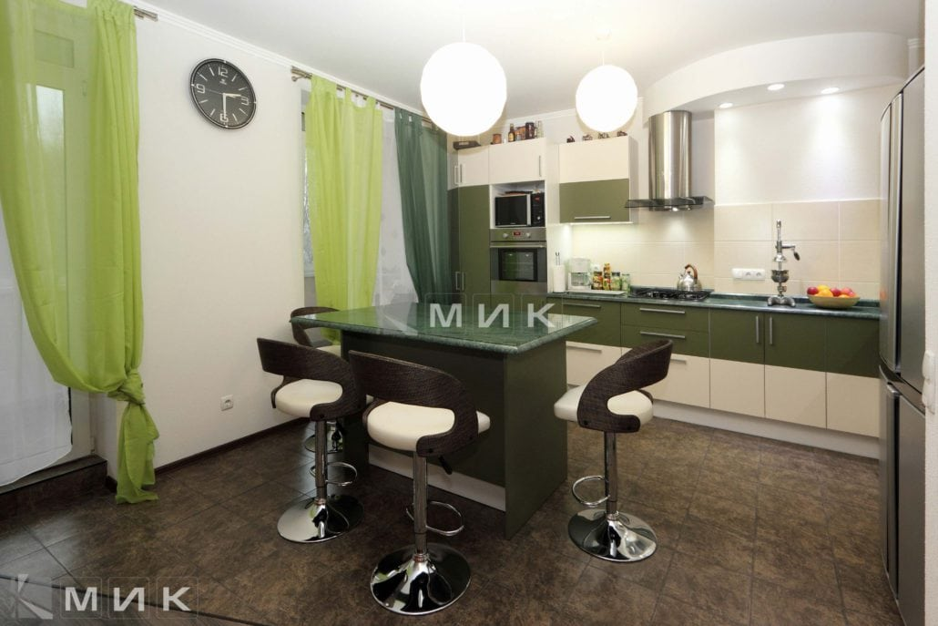 кухня-с-дизайном-хаки-от-MIK-8002