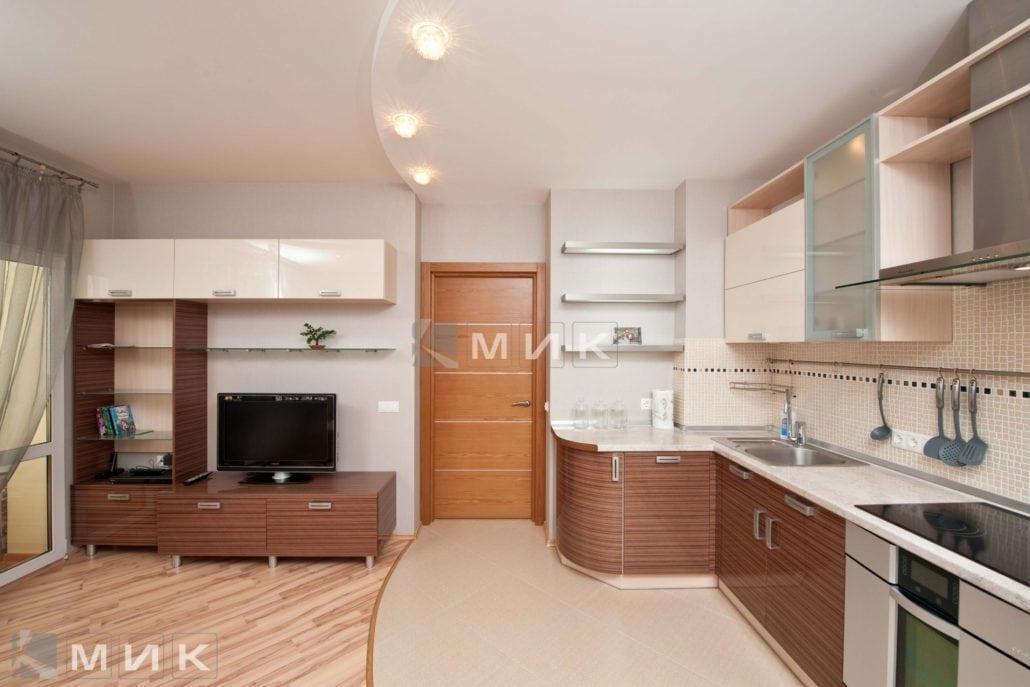 фото-кухни-с-дизайном-от-MIK-шпонированая-цвет-молочный-шоколад-8038