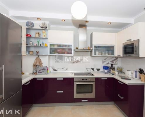 Фото п-образной кухни на Закревского 95