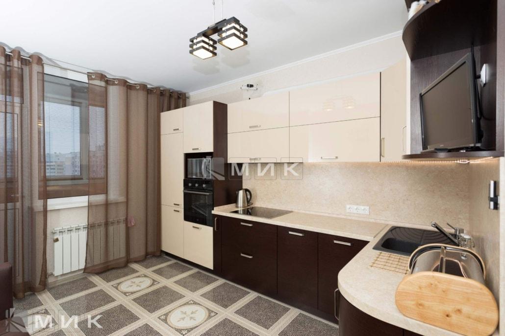 Кухня-угловая-шпон-венге-МДФ-краска-(пчелки-5)-1006