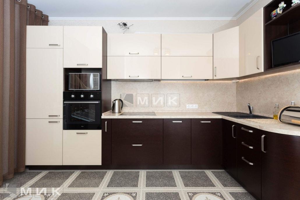 Кухня-угловая-шпон-венге-(пчелки-5)-1001