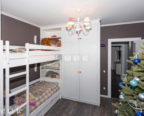 Белая-двухъярусная-кровать-шкаф-распошной-(Маяковского-21а)-1003