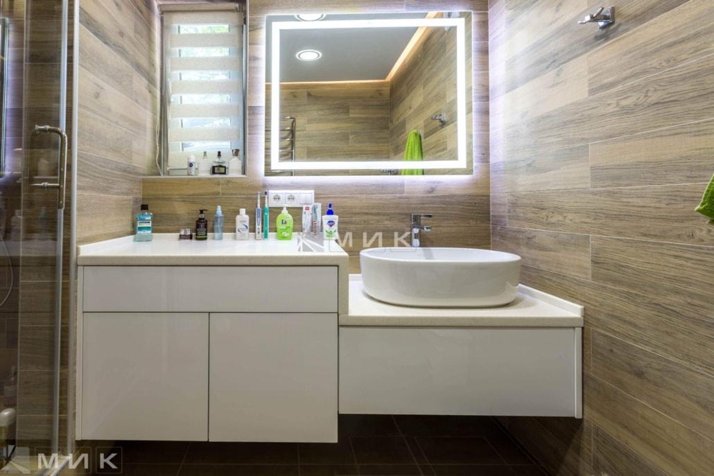 купить мебель для ванной комнаты на заказ выбрать дизайн по фото в