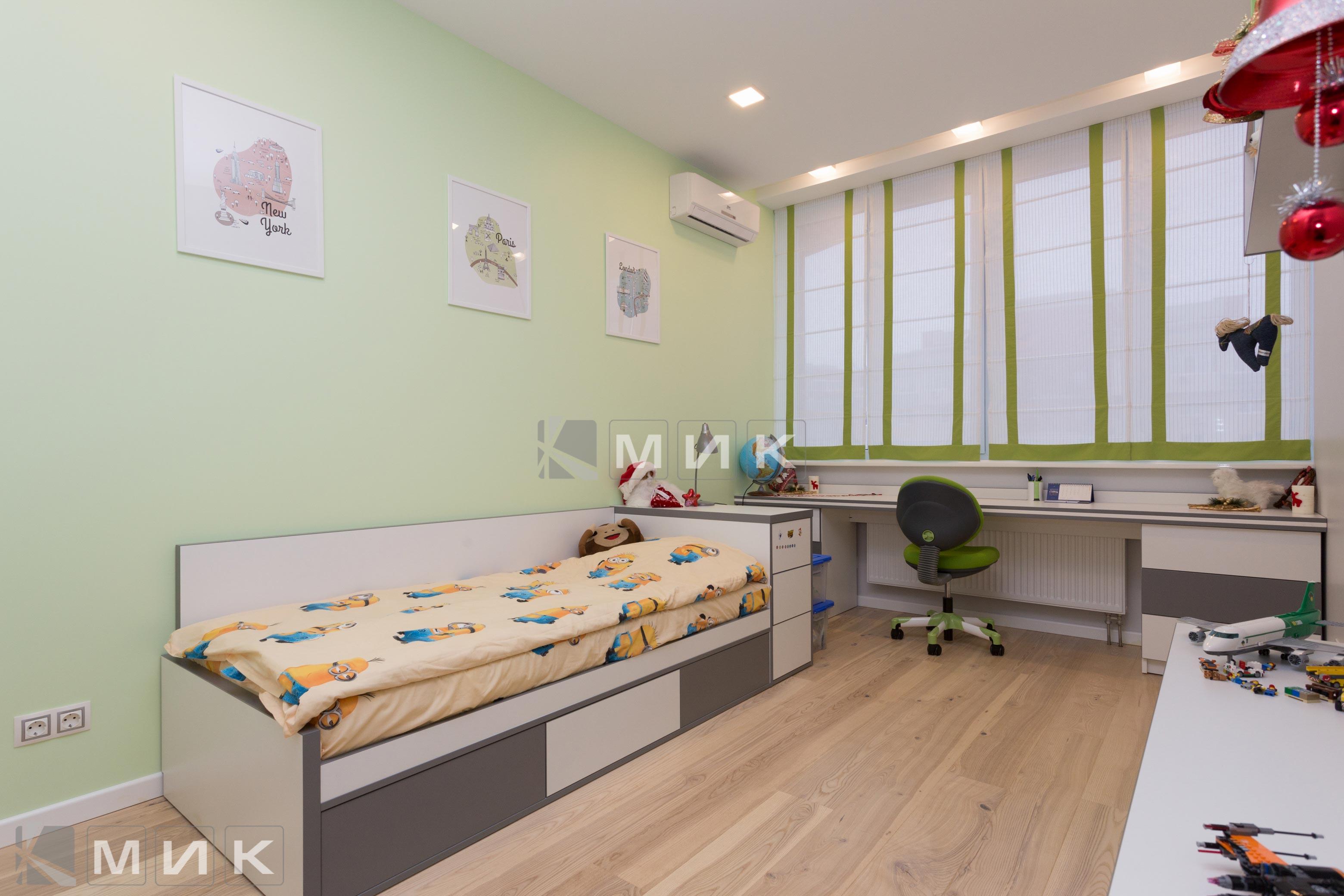 Детская-мебель кровать(Ломоносова)-1001