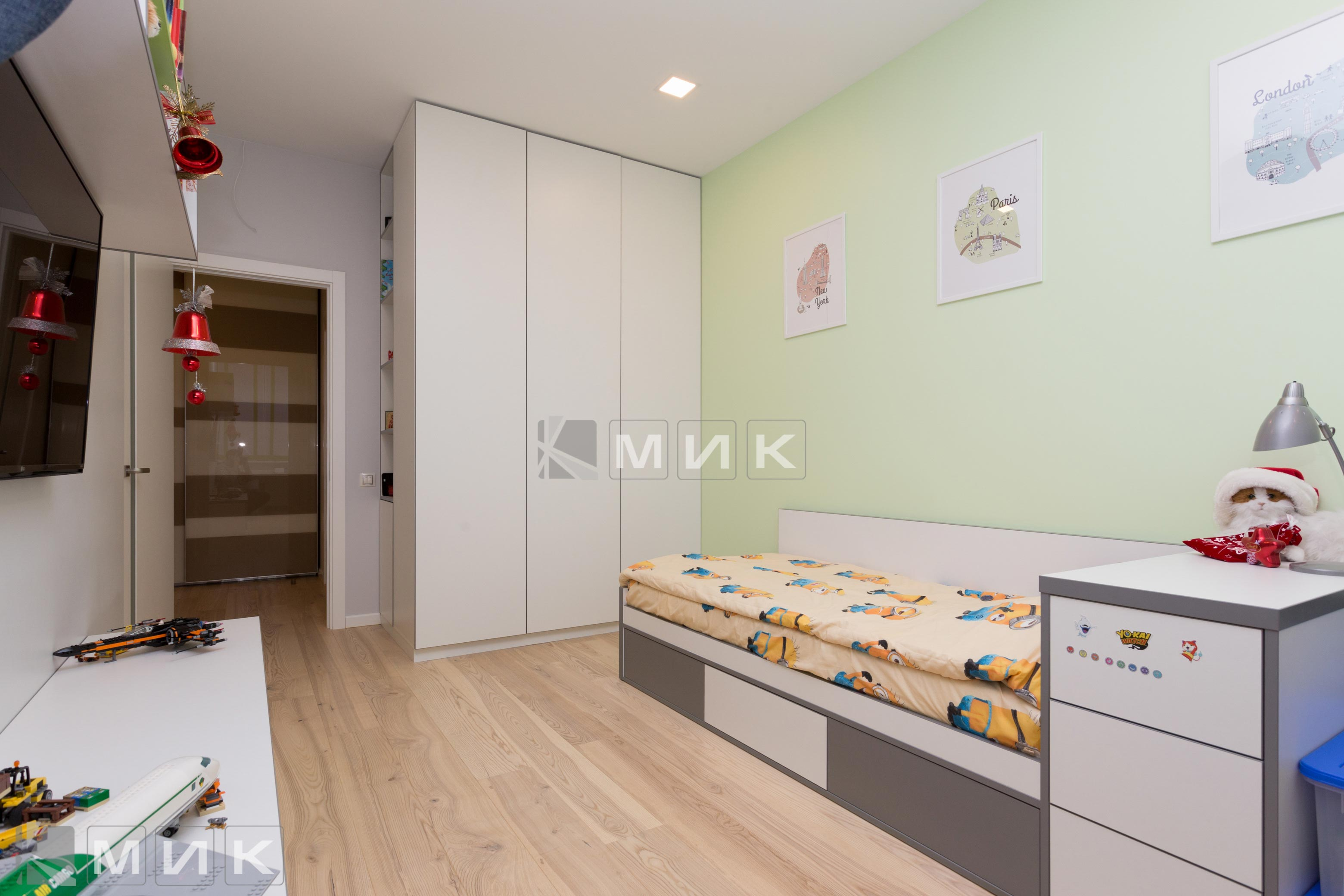 Детская-мебель шкаф(Ломоносова)-1003