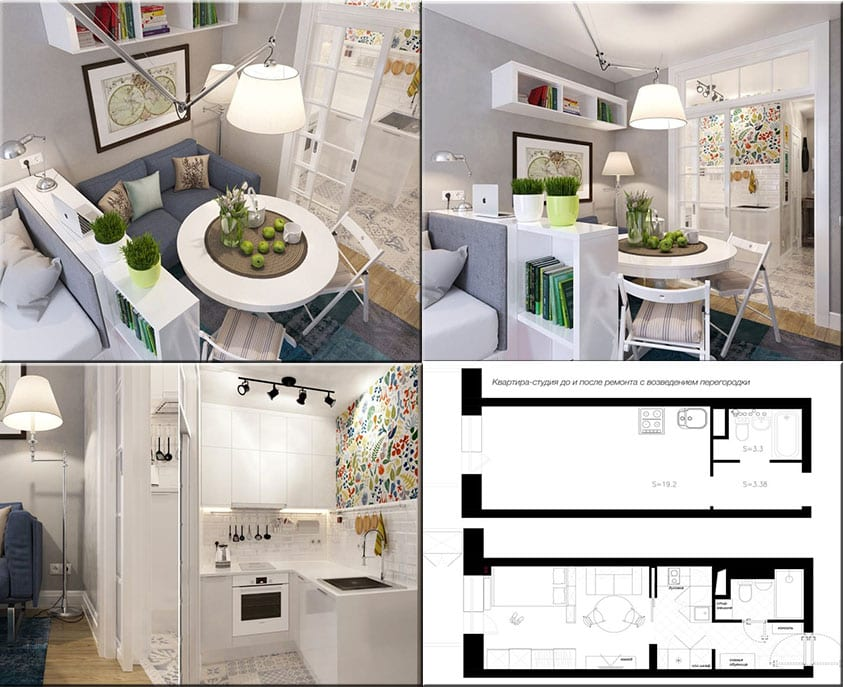 Дизайн-квартиры-студии-с-перегородкой-и-раздвижными-дверями
