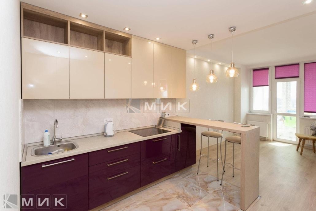 Кухня-двухцветная-МДФ-(Подворный)-1002