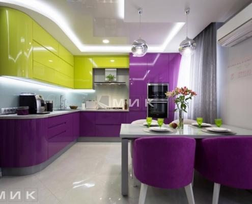 Кухня-студия-желто-фиолетовая(обухов)-1000