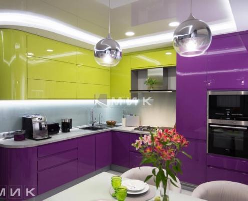 Кухня-студия-желто-фиолетовая(обухов)-1003
