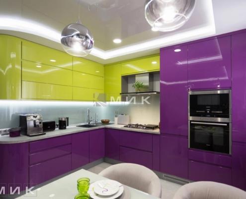 Кухня-студия-желто-фиолетовая(обухов)-1004