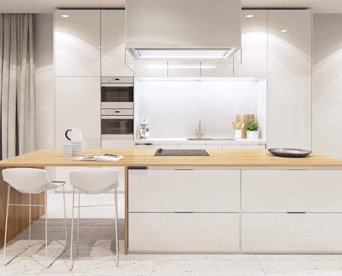 белая-кухня-со-столешницей-под-дерево