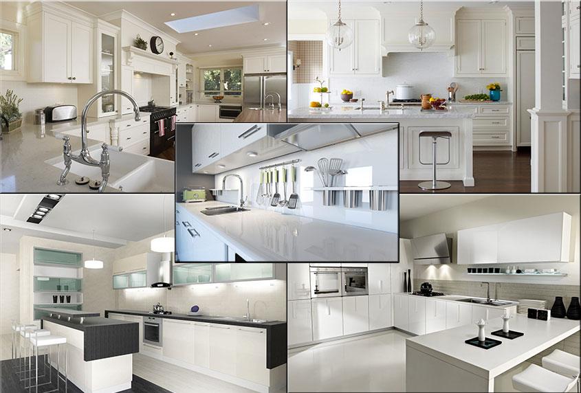 кухни-белые-в-интерьере