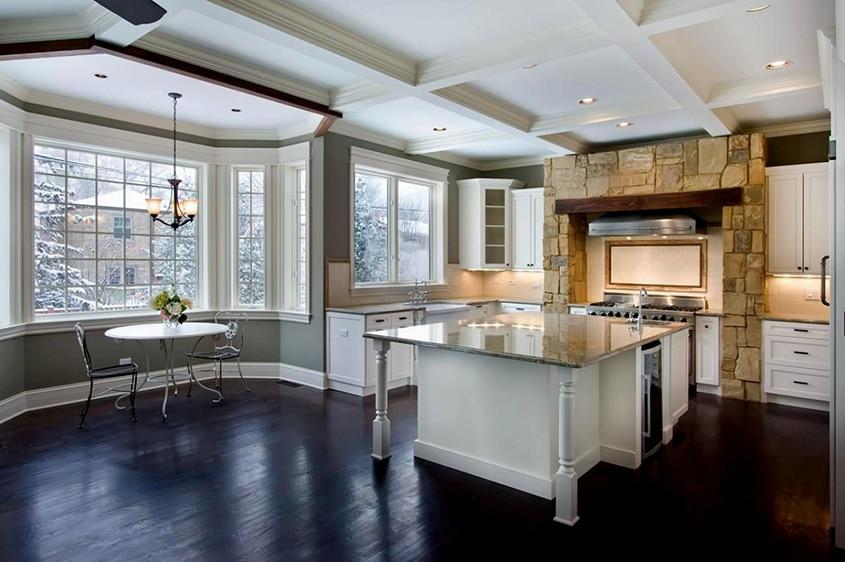 выдержке потолок на кухне с эркером фото подойти всей ответственностью