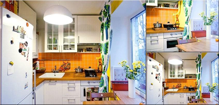 Желтый-и-зеленый-цвет-в-интерьере-кухни