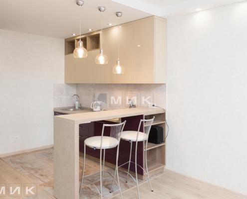 Кухня-двухцветная-МДФ-(Подворный)-1000