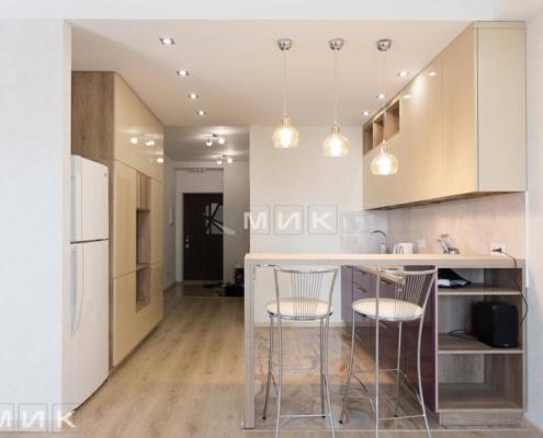 Кухня-двухцветная-МДФ-(Подворный)-1001
