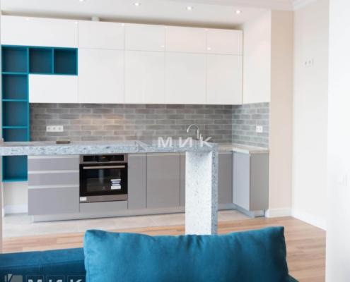 Кухня-студия-вид из гостиной
