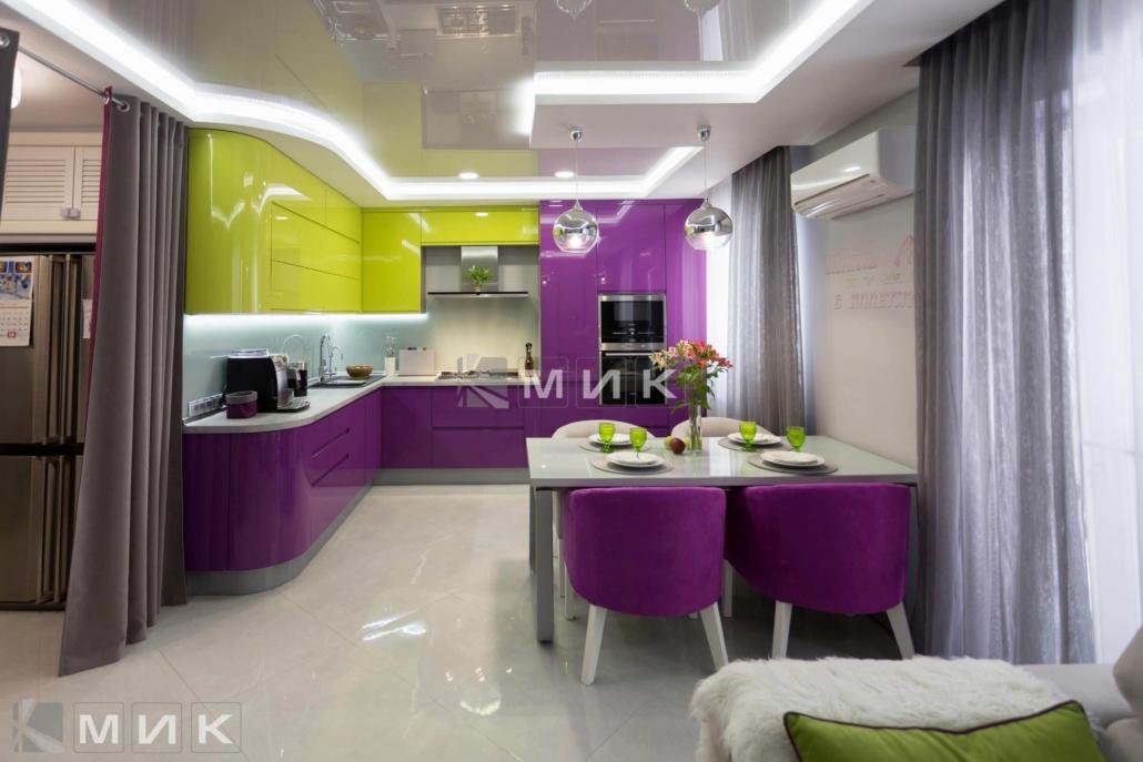 Кухня-студия-желто-фиолетовая(обухов)-1001