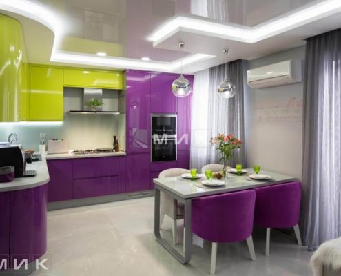 Кухня-студия-желто-фиолетовая(обухов)-1002