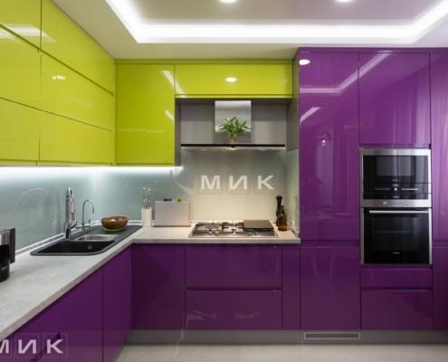 Кухня-студия-желто-фиолетовая(обухов)-1006