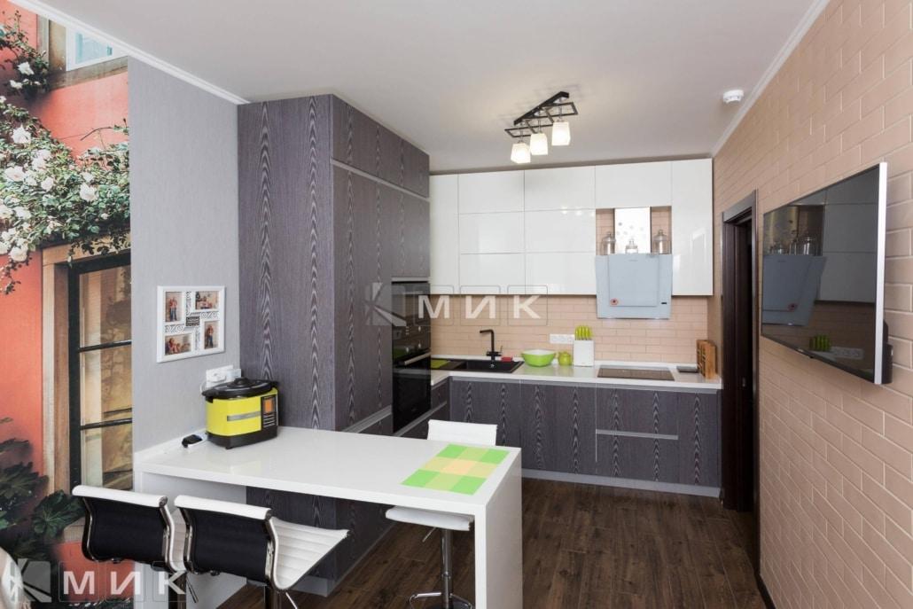 Кухня-студия-с-фасадами-ДСП