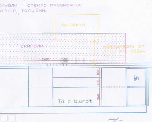Чертеж-кухни-деревянном-доме-1001