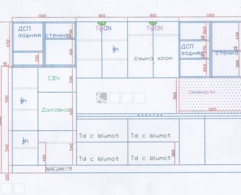 Чертеж-кухни-деревянном-доме-1002