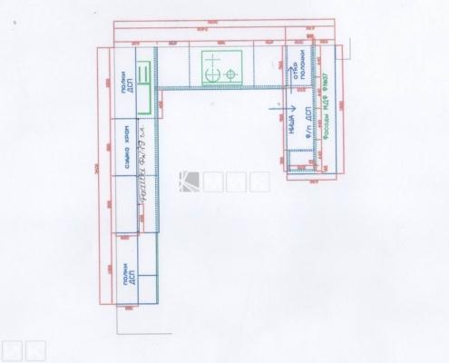 Чертеж-кухни-деревянном-доме-1003