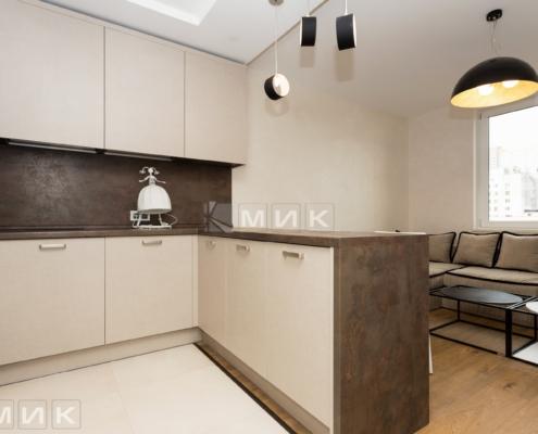 кухня с фасадом kleaf-1006