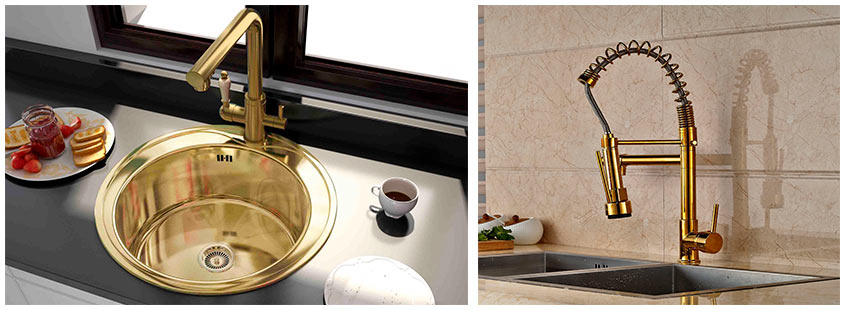 кухонный-смеситель-под-золото