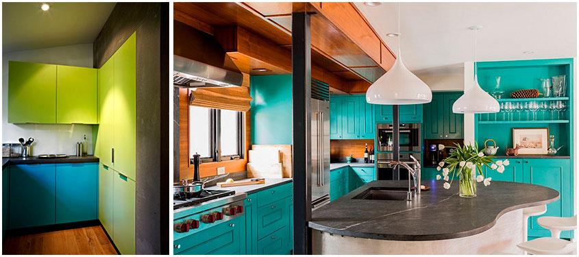 сине-зелёная-кухня