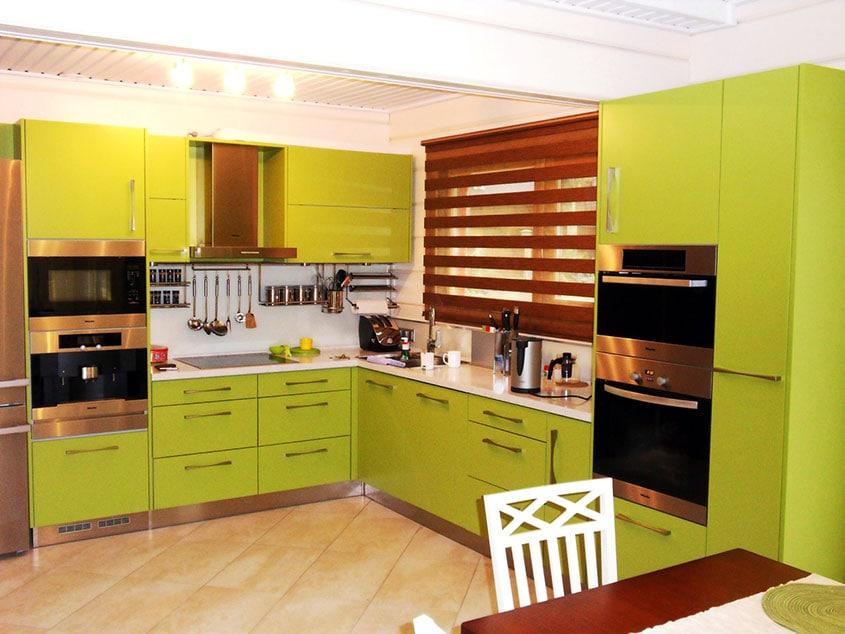 зелёная-кухня