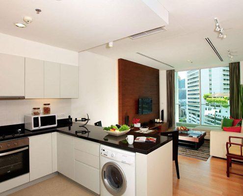 кухня-гостиная-студия