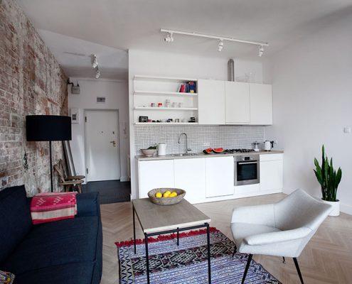 кухня-студия-прямая-с-ковром