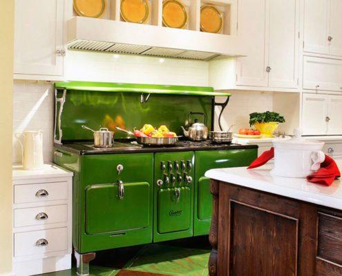 зелёный-декор-на-кухне