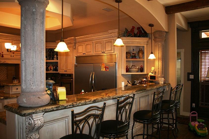 кухонная-стойка